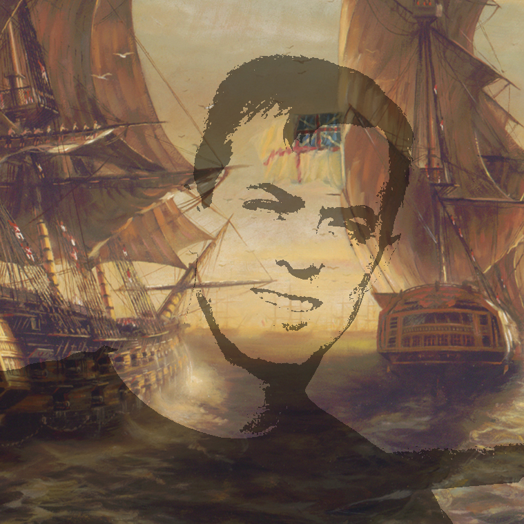 Mike with Ship darker