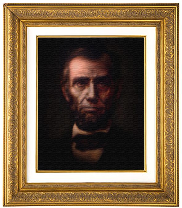Featyred Item Lincoln Framed
