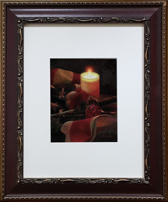 Framed Remembrance Cracline